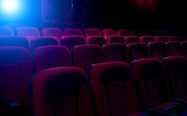 lumière et siège cinéma