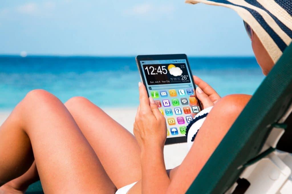 utiliser tablette 4G